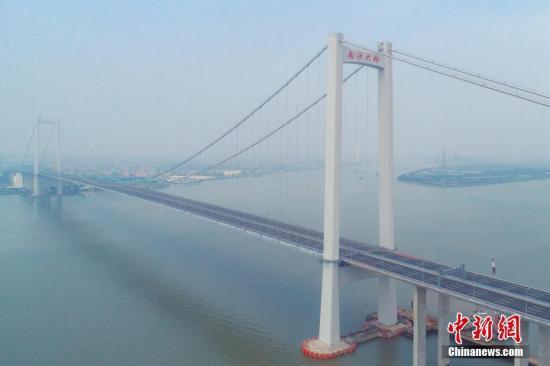 南沙大桥虎门二桥项目正式通车