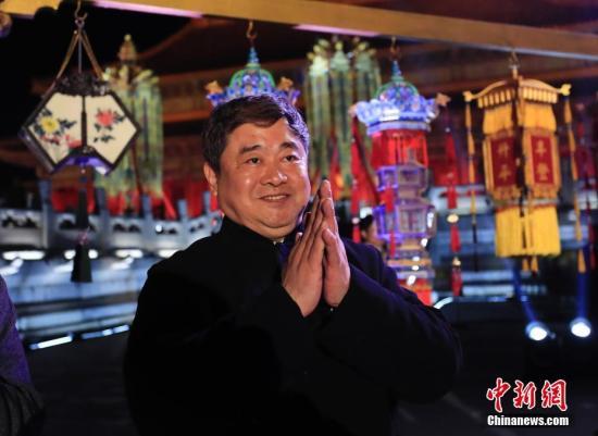 资料图:单霁翔。<a target='_blank' href='http://www.chinanews.com/'>中新社</a>记者 杜洋 摄