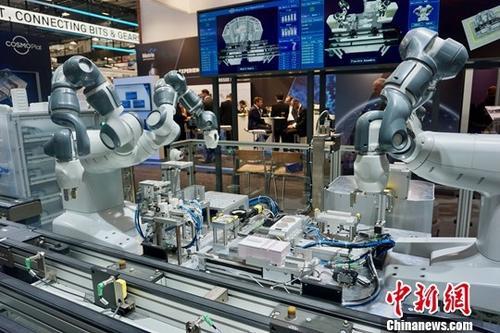 """""""中国智造""""新进展在汉诺威工博会受关注"""