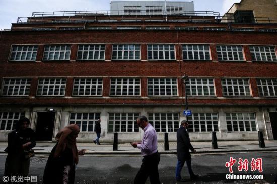 资料图:英国通讯总部(GCHQ)的伦敦总部。图片来源:视觉中国