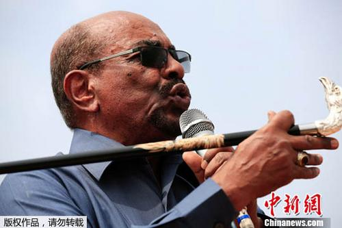 资料图片:苏丹总统巴希尔。