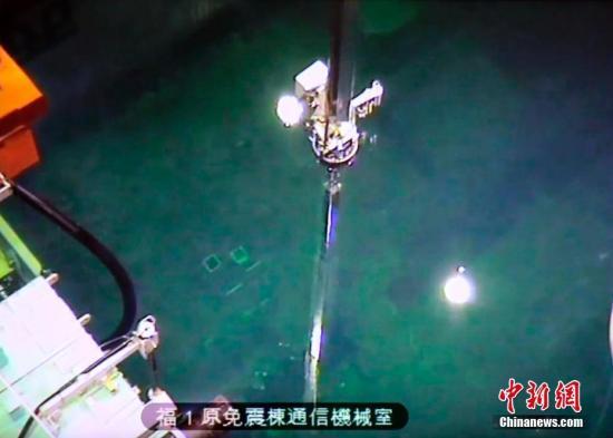 资料图:福岛一核3号机组燃料搬出作业启动。图片来源:东方IC 版权作品 请勿转载
