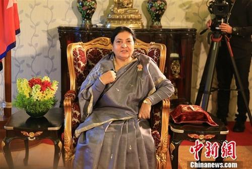 尼泊尔总统班达里和总理奥利等分别会见宋涛