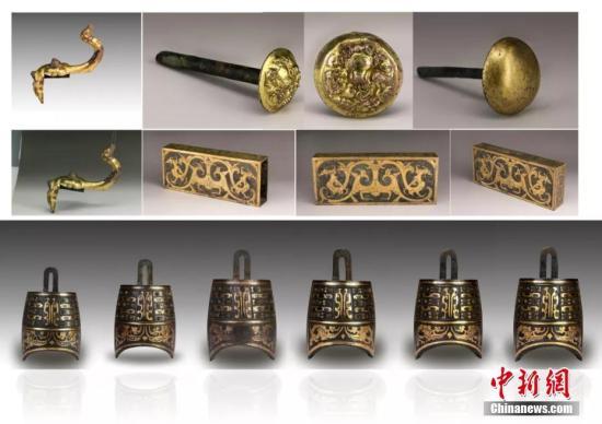 材料图:海昏侯墓文物。