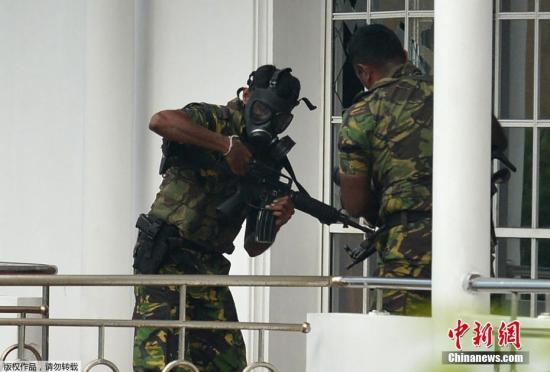 斯里兰卡防长:幕后主使已确认7人涉爆炸案被捕