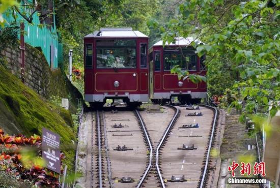 时时彩万位6码100%恢复服务!香港山顶缆车翻新首阶段