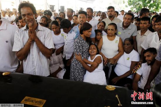 资料图:斯里兰卡21日复活节发生了连环爆炸案,警方发言人称,死亡人数已经上升至310人,另外有40名嫌犯被捕。