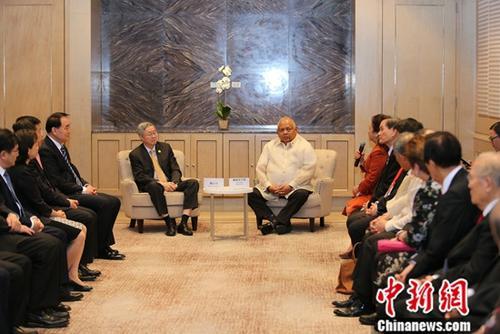 """博鳌亚洲论坛马尼拉会议鼓励中国企业参与""""一带一路""""和中菲合作"""