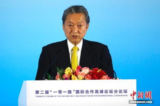 资料图:日本前首相鸠山由纪夫。中新社记者 富田 摄