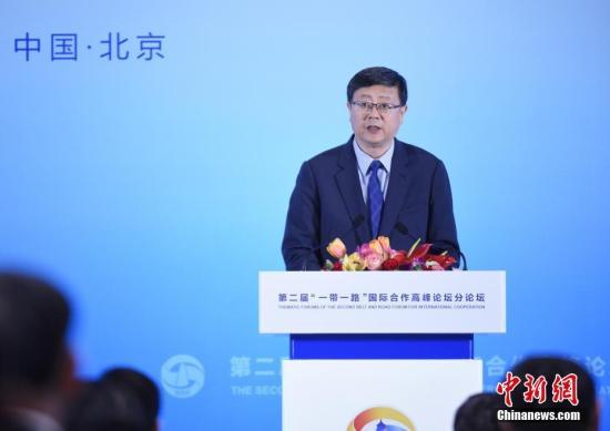 北京市市长陈吉宁。中新社记者 侯宇 摄