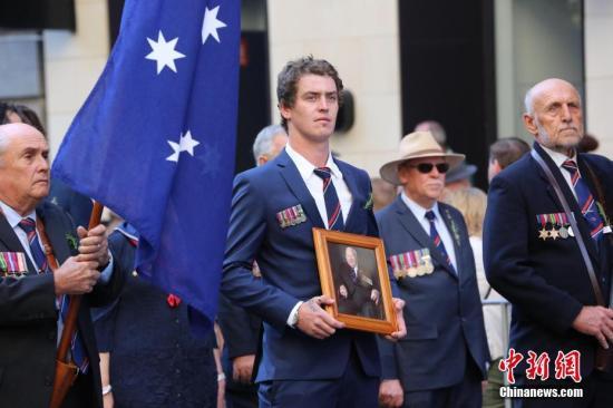 澳大利亚澳新军团日:悉尼举行纪念活动