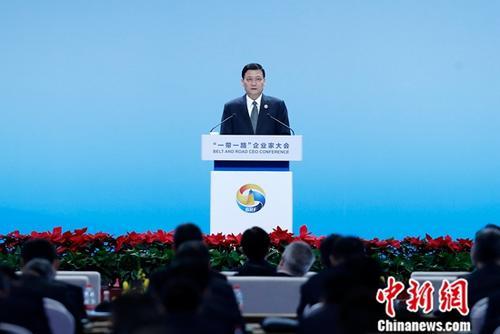 国务院国有资产监督管理委员会主任肖亚庆。中新社记者 韩海丹 摄