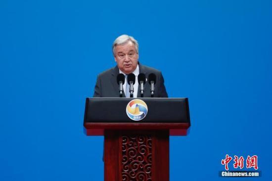 "<b>联合国秘书长呼吁各方在克什米尔问题上保持""最大克制""</b>"