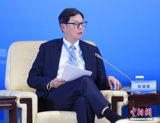 原料图:香港金融管理局总裁陈德霖。中新社记者 侯宇 摄