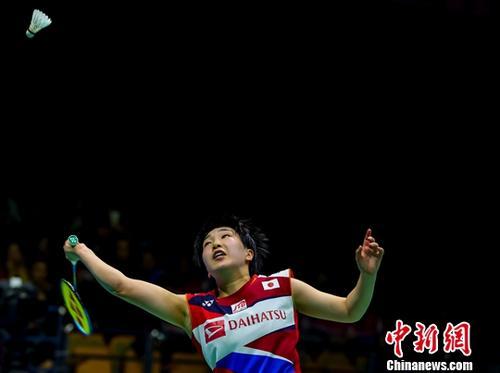 山口茜目前排名世界女单第一。(资料图:2019年羽毛球亚锦赛,山口茜战胜何冰娇获得女单冠军。中新社记者 张畅 摄)
