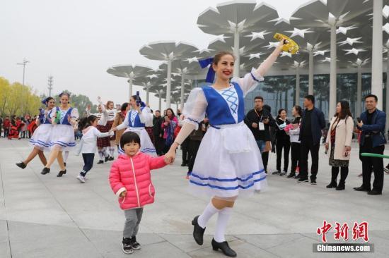 資料圖:2019年4月29日,2019年中國北京世界園藝博覽會開園,正式對公眾開放。<a target='_blank' href='http://www.chinanews.com/'>中新社</a>記者 毛建軍 攝