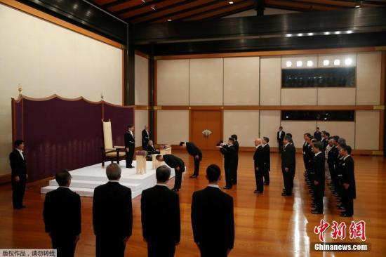 德仁成为日本第126位天皇。