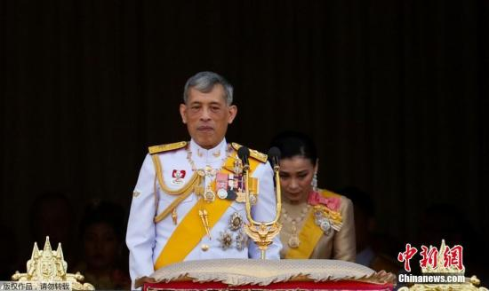资料图:泰国国王哇集拉隆功。
