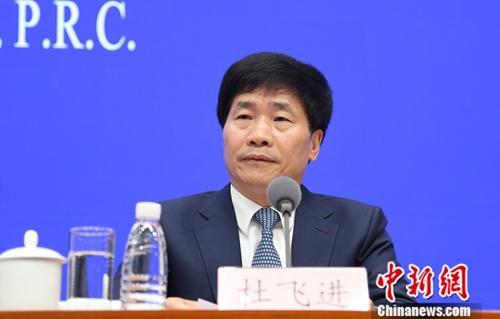 5月9日,国务院新闻办在北京举行新闻发布会,北京市委常委、宣传部部长杜飞进介绍亚洲文明对话大会有关情况。中新社记者 杨可佳 摄