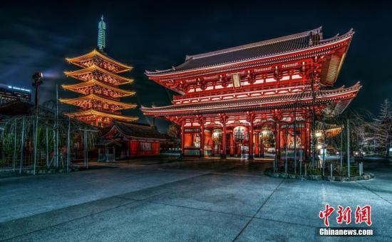 图为日本浅草寺材料图片。图片滥觞:视觉中国