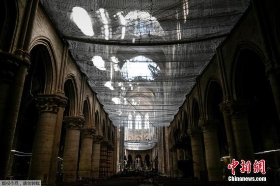 巴黎圣母院铅污染浮出水面 重建工程将暂停
