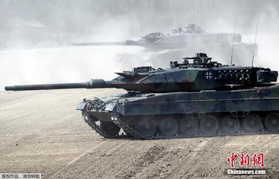 资料图:坦克。