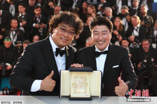 第72届戛纳电影节当地时间2019年5月25日晚终结,韩国电影《寄生虫》夺得电影节最高奖项——金棕榈奖。
