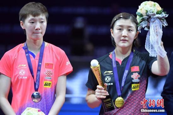 陈梦成就总决赛三连冠 状态出众期待梦想照进现实