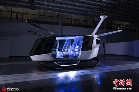 资料图:氢动力空中出租车。图片来源:icphoto