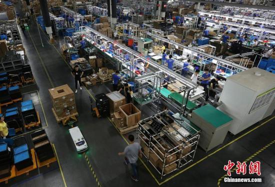资料图:南京江宁开发区一家企业。泱波 摄