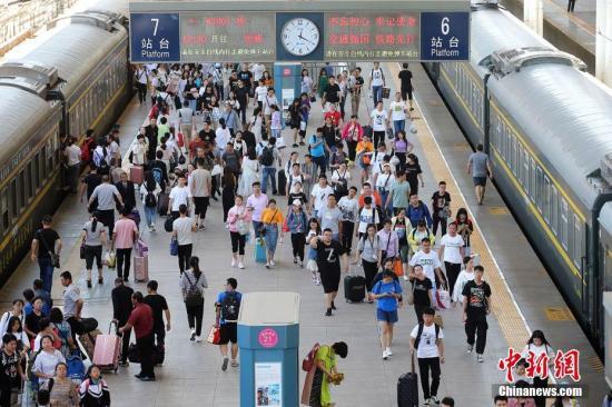 端午小长假全国铁路累计发送旅客507股票资讯4.4万人次