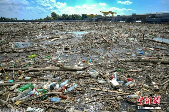 资料图:塑料废弃物。
