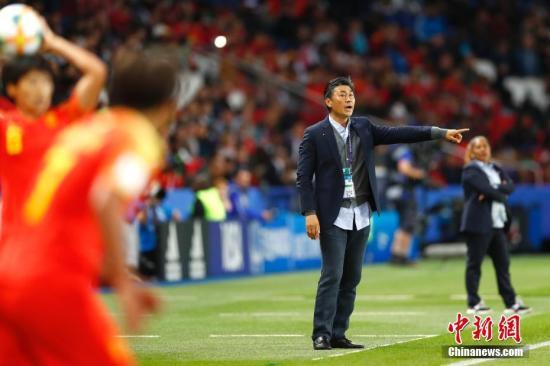 资料图:首胜到手后,中国女足的世界杯之旅压力轻了不少。 <a target='_blank' href='http://teenflv.com/'>中新社</a>记者 富田 摄