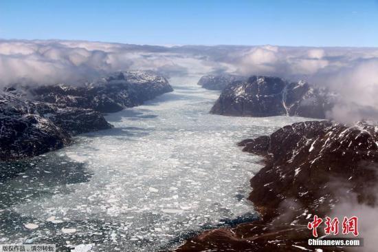资料图:格陵兰岛。