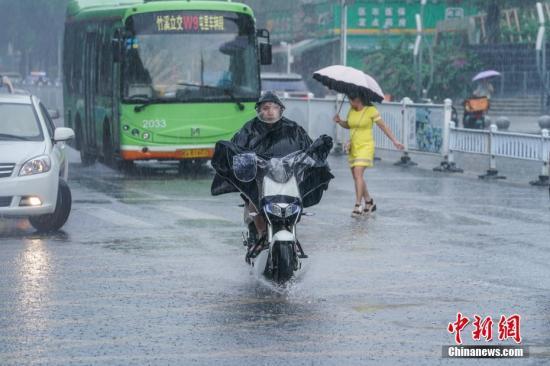 """第9号台风""""利奇马""""向浙江沿海靠近 东北部分地区预计有大雨或暴雨"""