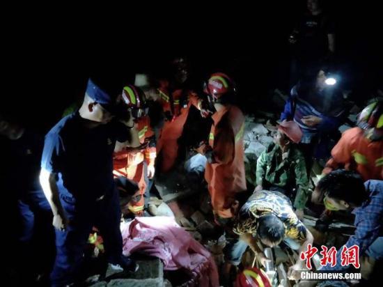 四川長寧地震已致19人受傷2人死亡