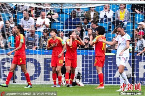 资料图:中国女足从世界杯小组赛阶段杀出,淘汰赛首轮将遭遇劲敌意大利。 图片来源:Osports全体育图片社