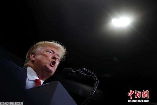 当地时间6月18日晚,美国总统特朗普在佛州正式宣布竞选连任。