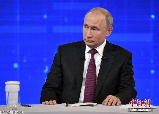 资料图片:俄罗斯总统普京。