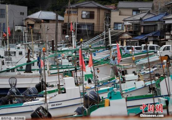 资料图:日本捕鲸船。