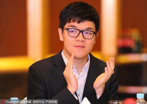 柯洁领衔春兰杯中国队阵容。资料图为柯洁。图片来源:Osports全体育图片社