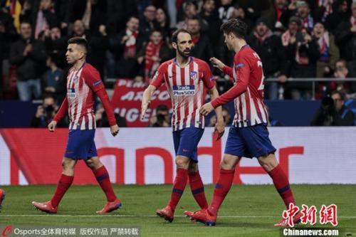 资料图为马德里竞技。 图片来源:Osports全体育图片社
