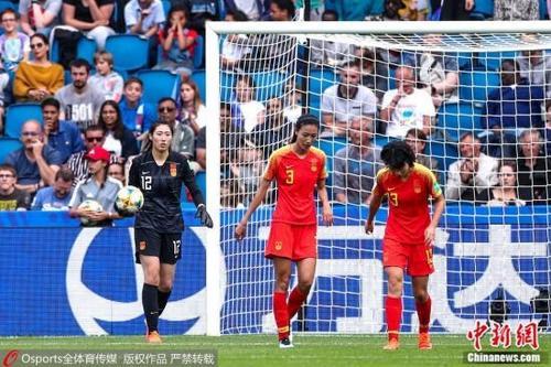 资料图为中国女足守门员彭诗梦。图片来源:Osports全体育图片社