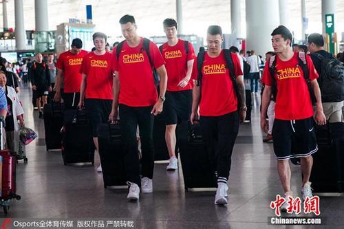 资料图为中国男篮。图片来源:Osports全体育图片社