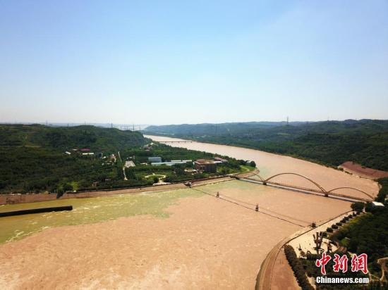 资料图:黄河小浪底。李超庆 摄