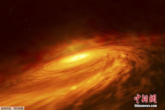 """超大质量黑洞""""苏醒""""后亮度增75倍!科学家困惑了"""