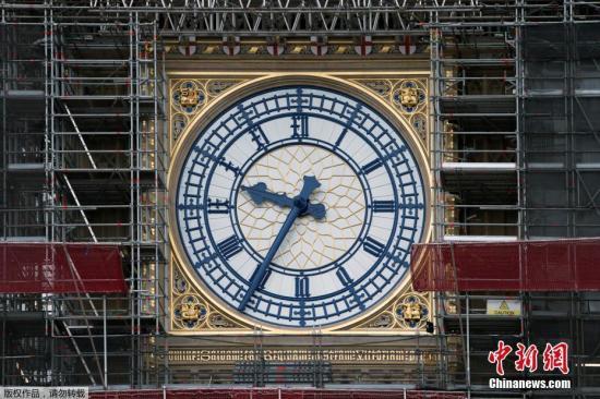 """資料圖:英國""""大本鐘""""。"""