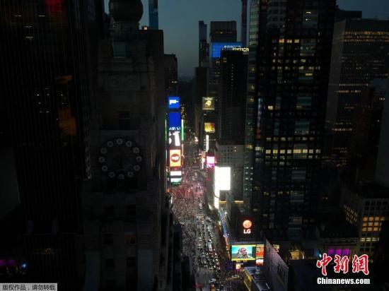 资料图:美国纽约第五大道•‒•。