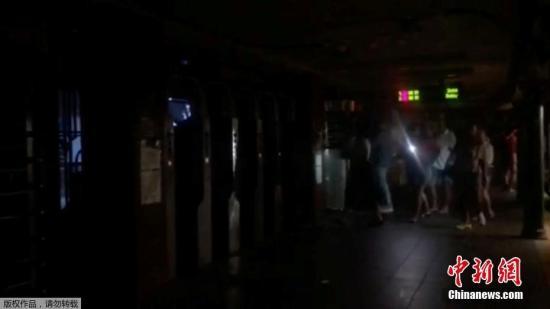 图纽约曼哈顿里,公众出止。