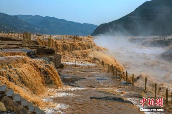 资料图:黄河。兰华 摄